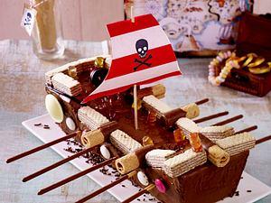 Piratenschiff-Kuchen Rezept