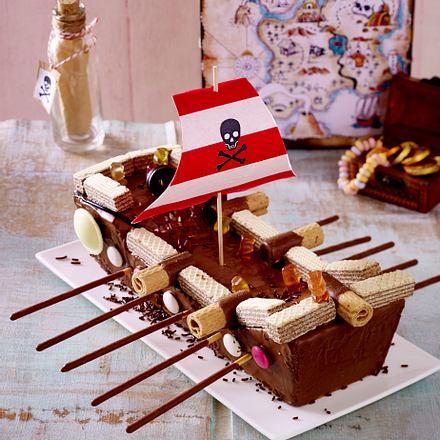Piratenschiff Kuchen Rezept Lecker