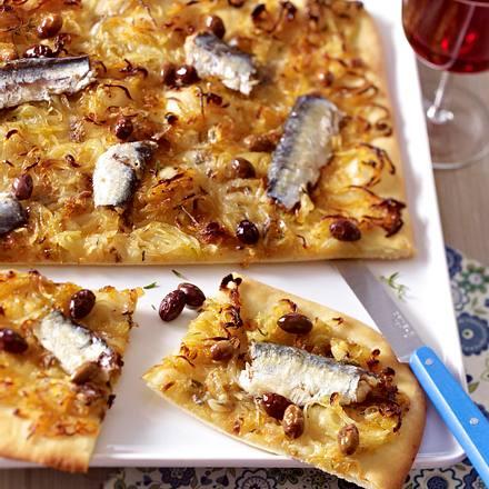 Pissaladière aux sardines Rezept