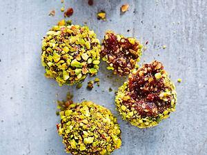 Pistazien-Cranberry-Ballen Rezept
