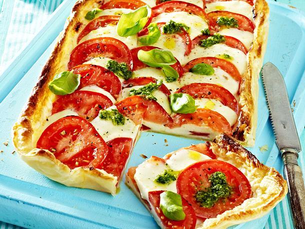 Pizza Caprese Rezept