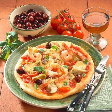 Pizza de Luxe Rezept