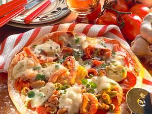 Pizza deliciosa Rezept