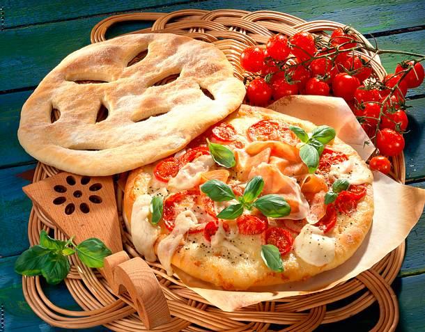 Pizza mit Deckel Rezept