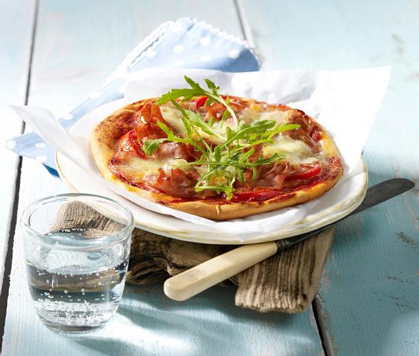 Pizza Parma Rezept