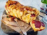 Pizza-Pull apart bread Rezept