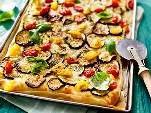 Pizza Ratatouille Rezept