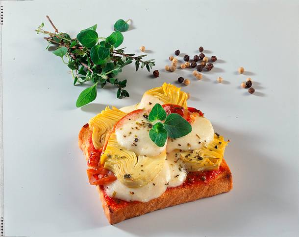 Pizza-Toast Rezept