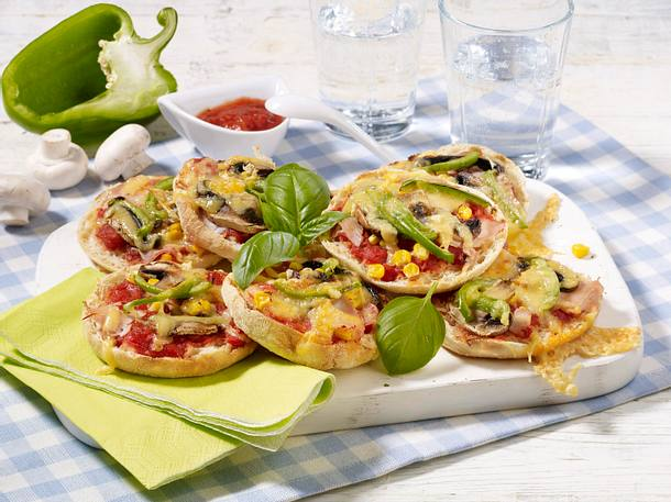 Pizza Toasties Rezept