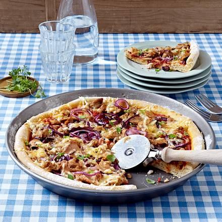 Pizza Tonno Rezept