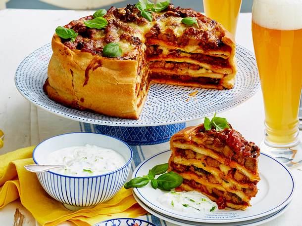 Pizzakuchen XXL Rezept