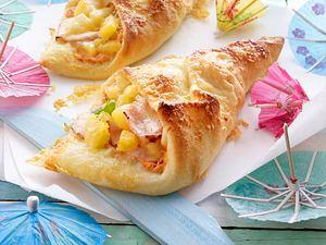 Pizzataschen Hawaii Rezept