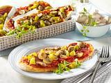 Pizzazungen mit Salami Rezept