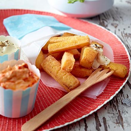Polenta-Pommes Schranke Rezept