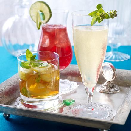 Pommegranat Ginger Lemonade (Granatapfel-Ingwer-Limonade) Rezept