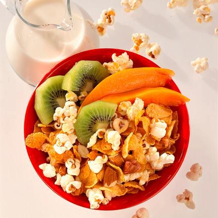 Popcorn-Müsli Rezept