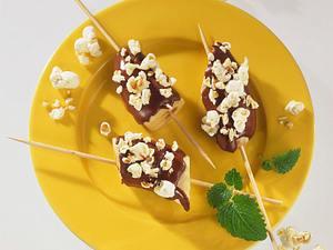 Popcorn-Schoko-Bananen Rezept