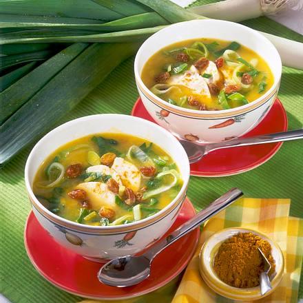 curry lauch suppe mit h hnchen rezept. Black Bedroom Furniture Sets. Home Design Ideas