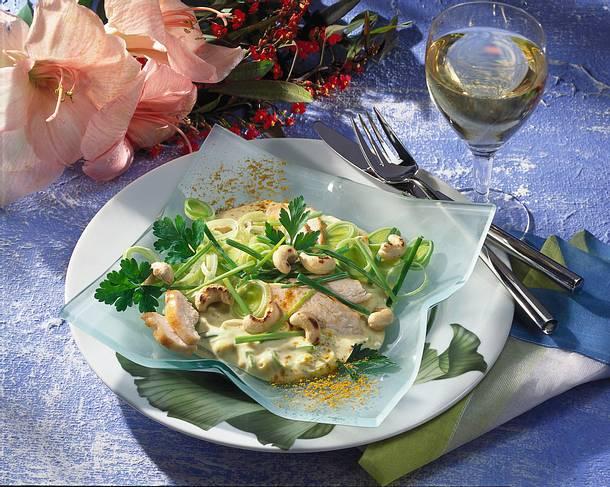Porree-Curry-Salat Rezept