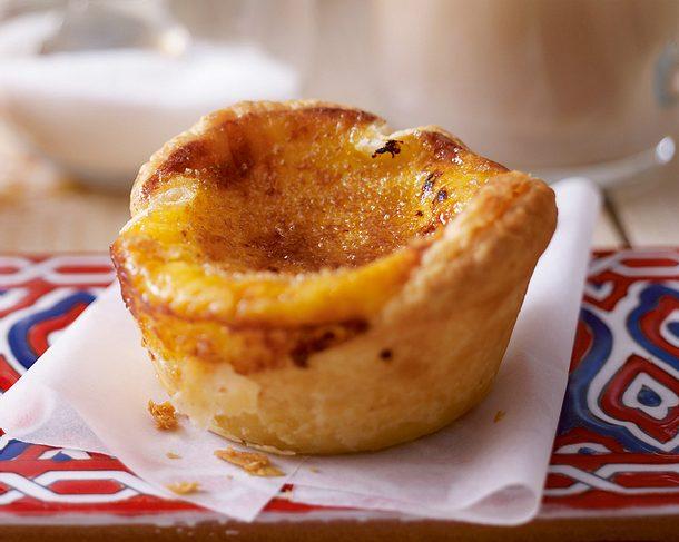 Portugiesische Vanilletörtchen Rezept