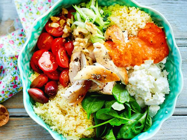 Power-Bowl mit Couscous