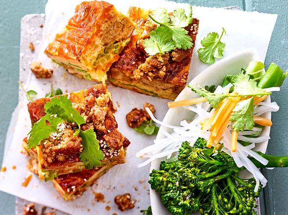 """Power-Omelett """"Banh Mi""""-Style Rezept"""