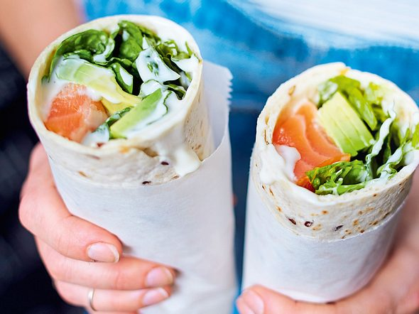Power-Wrap Rezept