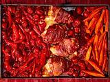 Powerfood vom Blech: Starkes Rezept mit Paprika und Parmaschinken Rezept