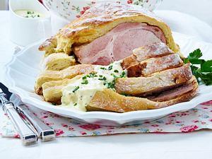 Prager Schinken im Kartoffelbrotteig Rezept