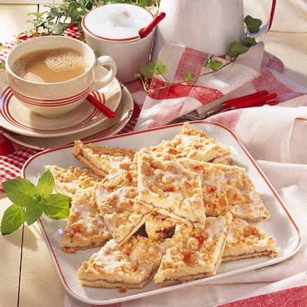 Prassel Kuchen Mit Creme Fraiche Rezept Lecker