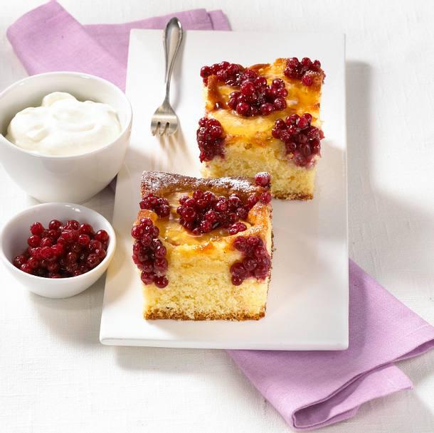 Preiselbeer-Apfel-Kuchen Rezept