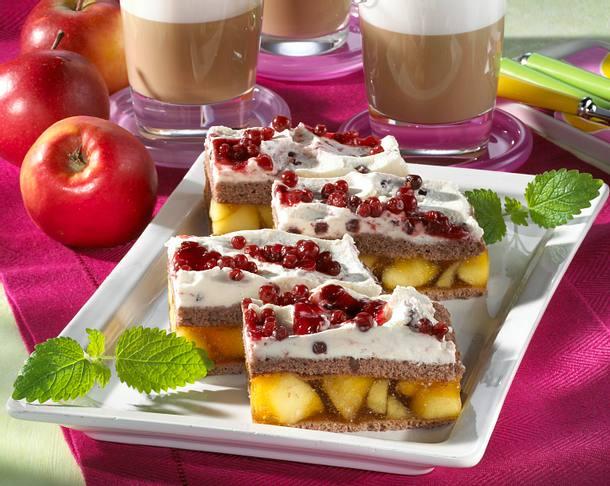 Preiselbeer-Apfel-Schnitten (Diabetiker) Rezept