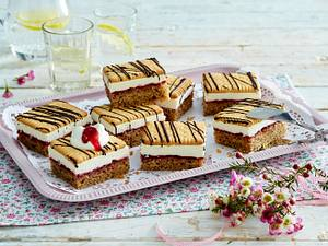 Preiselbeer-Butterkeks-Kuchen Rezept