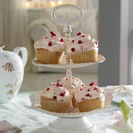 Preiselbeer-Punsch-Cupcakes Rezept
