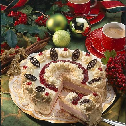 Preiselbeer-Punsch-Torte Rezept