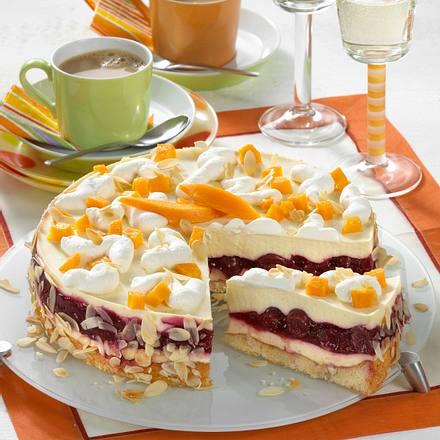 prosecco frucht torte rezept chefkoch rezepte auf kochen backen und schnelle gerichte. Black Bedroom Furniture Sets. Home Design Ideas