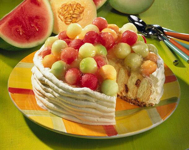 Prosecco-Melonen-Torte Rezept