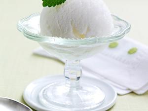 Prosecco-Sorbet mit Himbeermark Rezept