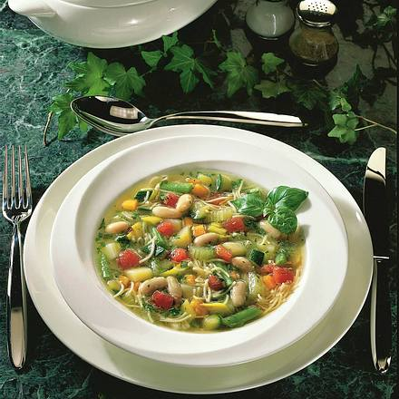 Provencalische Gemüsesuppe Rezept