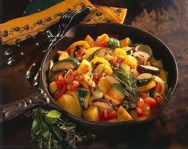 Provencalische Kartoffelpfanne Rezept