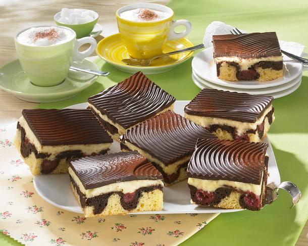Pudding-Donauwellen Rezept