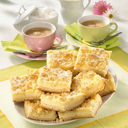 Pudding-Streuselschnitten vom Blech Rezept