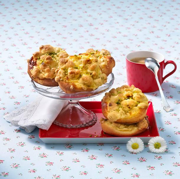 Pudding-Streuselteilchen Rezept