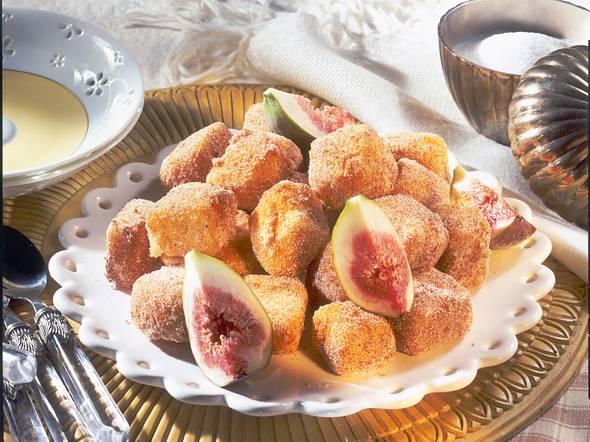 Puddingwürfel mit Zuckerkruste Rezept