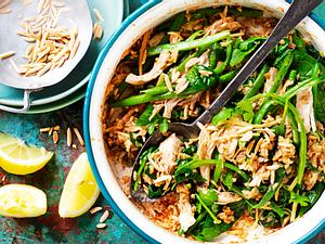 Pulled Chicken Pilaw Rezept