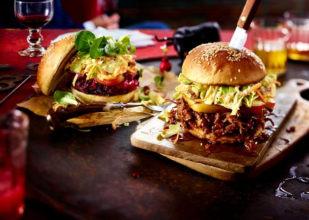 Pulled-Deer-Burger Rezept