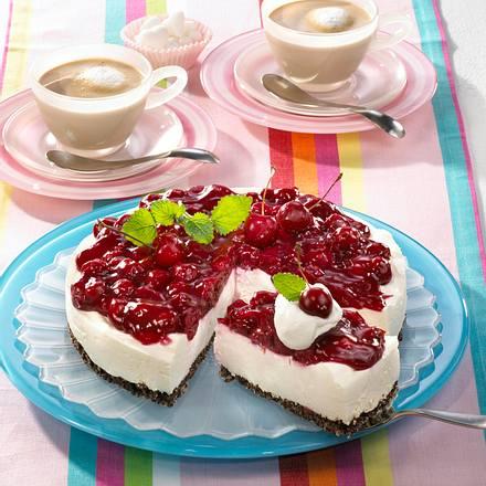 Pumpernickel-Kirsch-Schmand-Torte Rezept