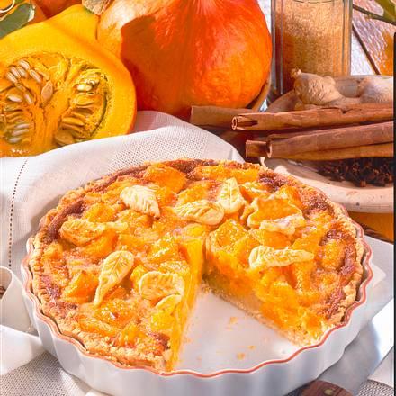 Pumpkin-Pie (Kürbiskuchen) Rezept
