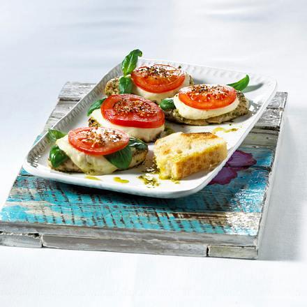 Pute mit Tomate-Mozzarella  Rezept
