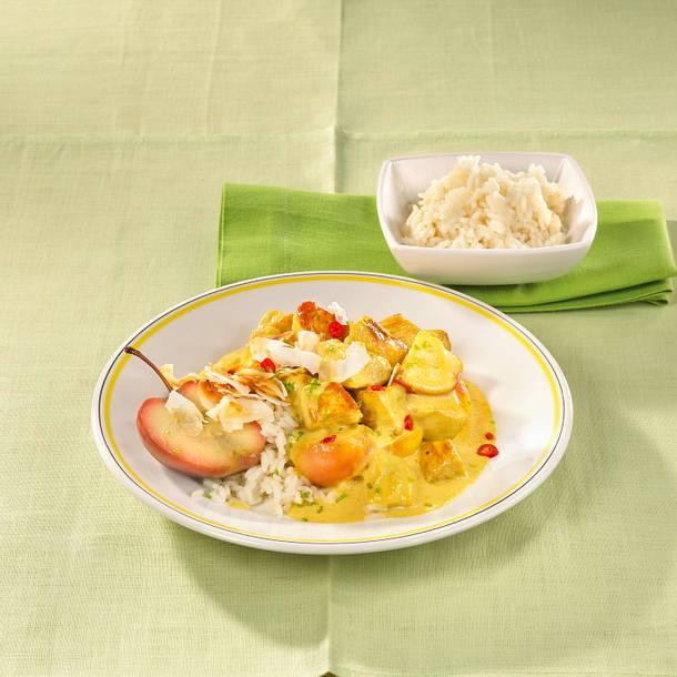 Puten-Curry-Gulasch Rezept